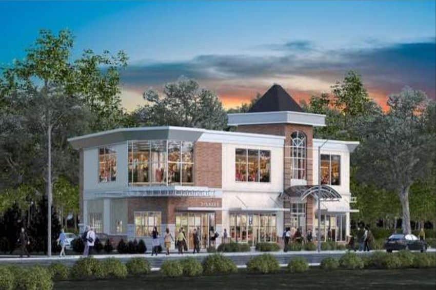 retail plaza refinancing